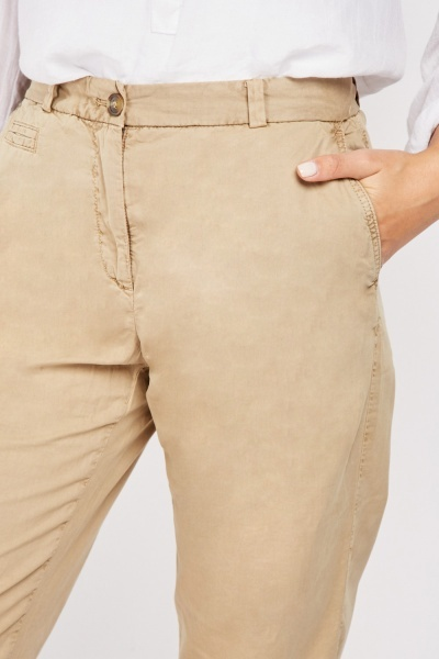 Tapered Fit Cotton Chinos