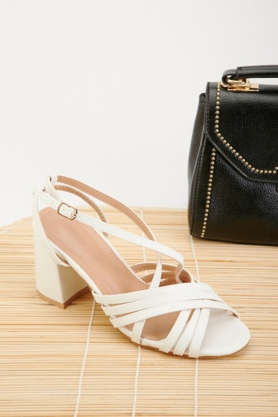 Multiple Strappy Heel Sandals