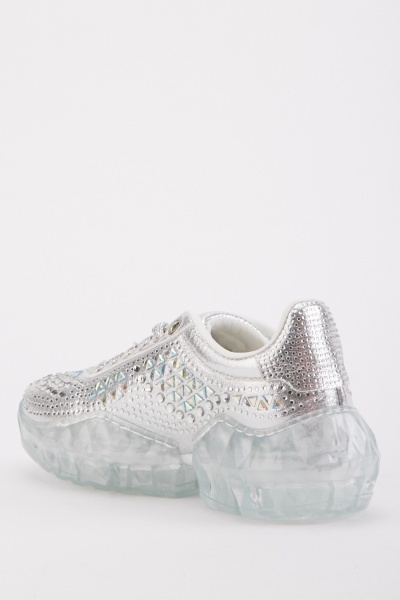 Encrusted Side Trainers