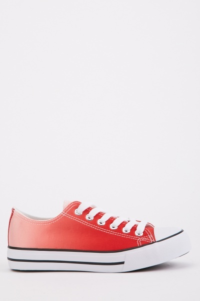 Lace Up Ombre Sneakers
