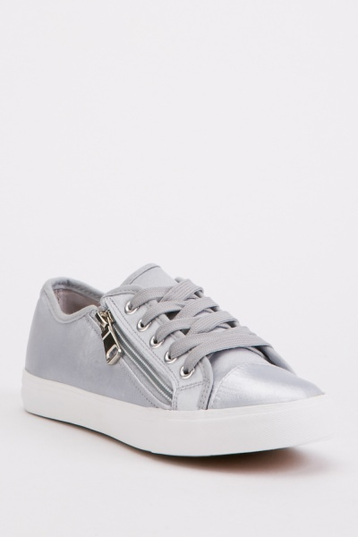 Sateen Low Top Trainers