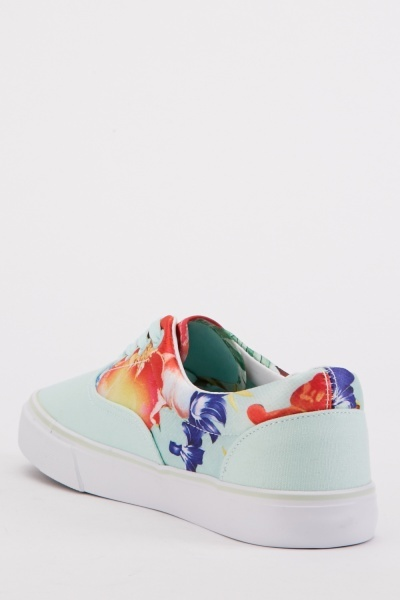 Tropical Print Trainers