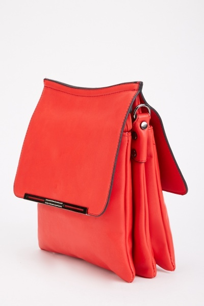 Double Flap Messenger Bag