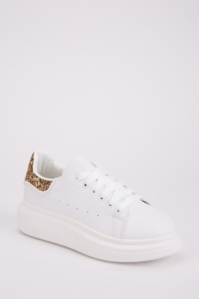 Sequin Embellished Trainers