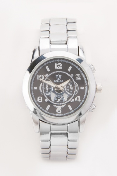 Two Tone Chain Link Watch