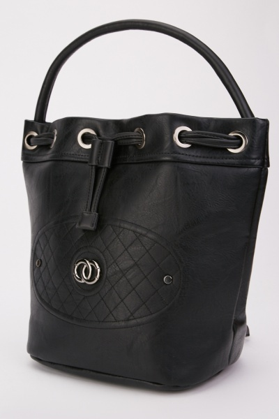 Textured Diamond Pattern Bag