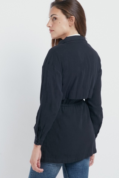 Twin Large Pocket Casual Jacket