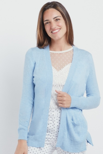 Twin Pocket Thin Knit Cardigan
