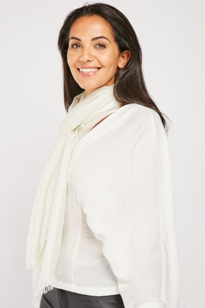 Sheer Shimmery Scarf