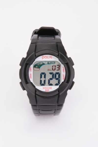 Kids Silicone Strap Watch