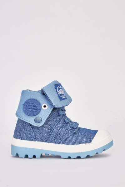 Kids High Top Trainer Boots