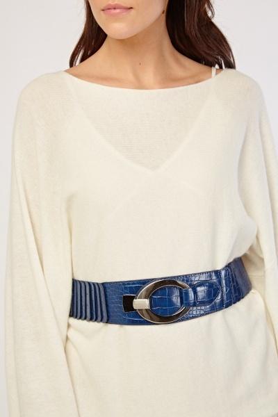 Elasticated Chunky Belt