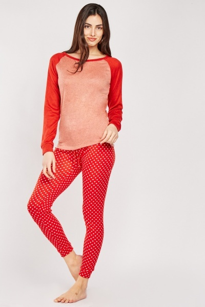Mix Printed Pyjama Set