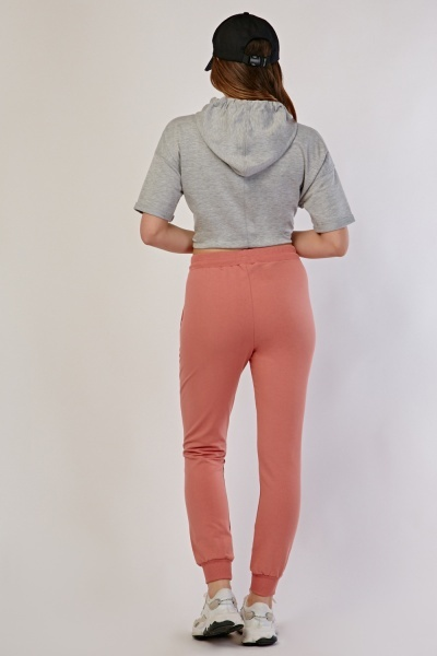 Large Pocket Front Jogging Bottoms