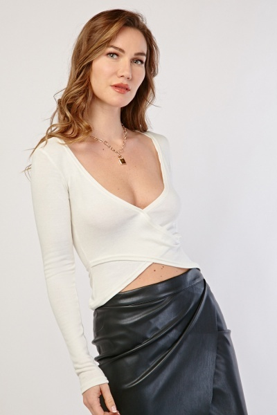 Criss Cross Crop Top