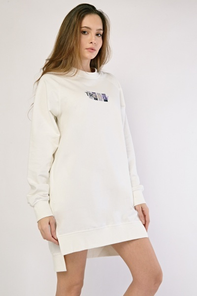 Mini Sweatshirt Dress