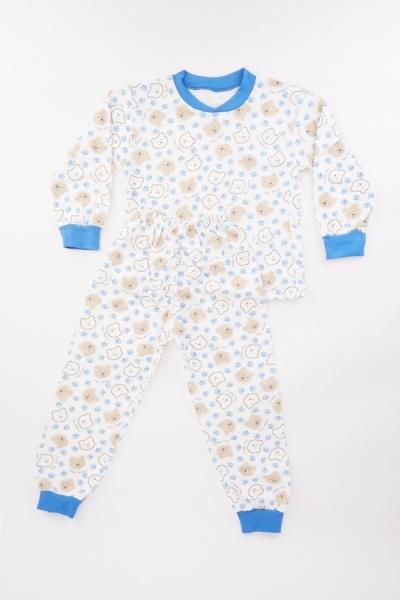 Bear Print Kids Pyjama Set