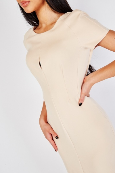 Dart Panelled Pencil Dress