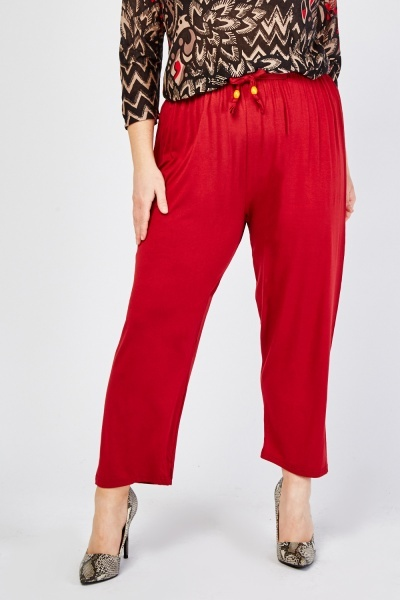 Tie Up Lightweight Trousers