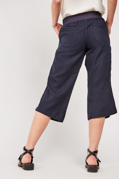 Crop Length Chino Trousers