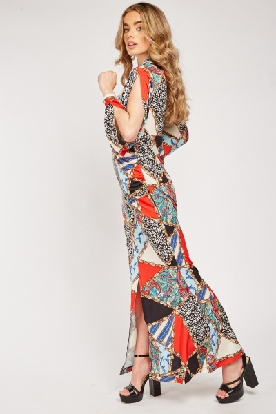 Cut Out Side Maxi Dress