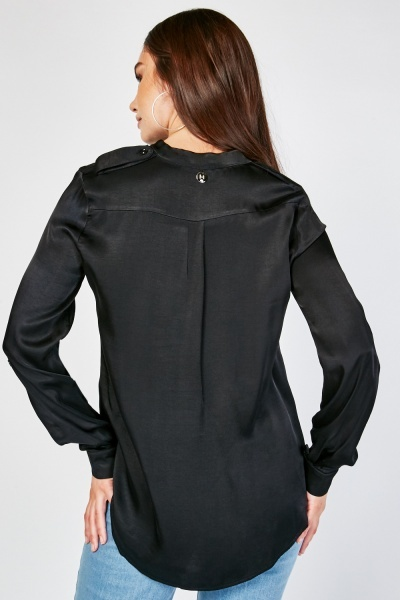 Silky Long Sleeve Shirt