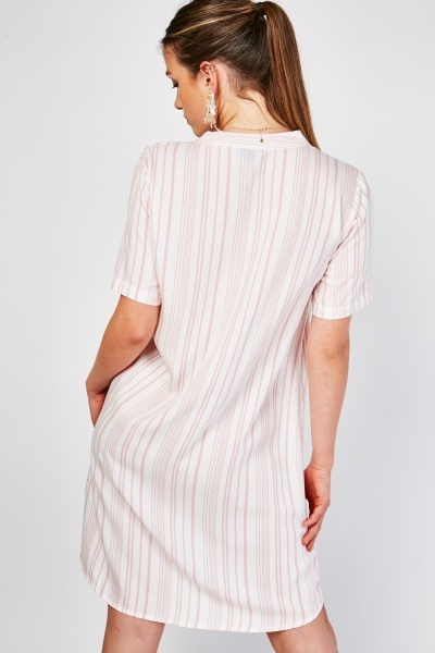Striped Tunic Mini Dress