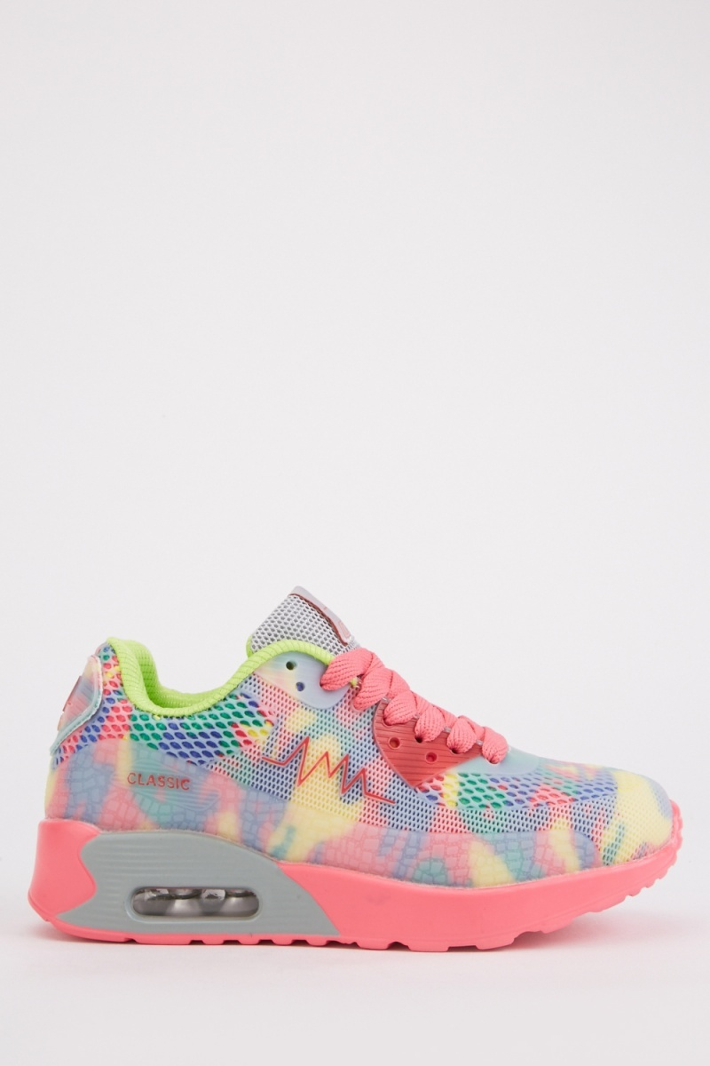 Multi-Colour Chunky Trainers - Just $6