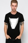Metallic Animal Face T-Shirt