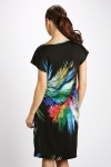 Multi Feather Dress