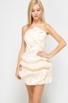 Ruffle Bubble Hem Dress