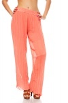 Pleated Straight Leg Trousers