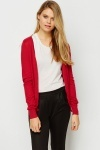 V-Neck Button Front Cardigan