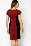 Textured Two Tone Smart Dress