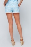 Tapestry Embossed Shorts