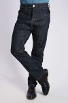 Thread Trim Dark Denim Jeans
