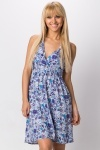 Halterneck Floral Summer Dress