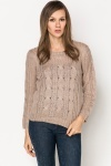 Soft Cable Knit Pullover