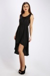 Dip Hem Basic Dress