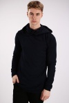 Loose Neck Hooded Pullover