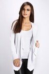 Classic Waterfall Open Front Cardigan