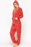 Fleeced Christmas Onesie