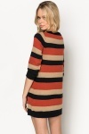 Pocket Front Stripe Pullover