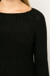 Zip Back Ribbed Jumper