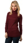 Roll Up Sleeve Turtle Neck Jumper