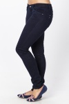 Velour Slim Leg Trousers