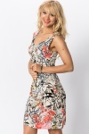 Graphic Floral Summer Dress