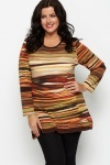 Painted Stripe Tunic