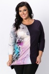 Asymmetric Pearl & Flower Tunic