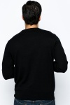 Small Logo Round Neck Pullover